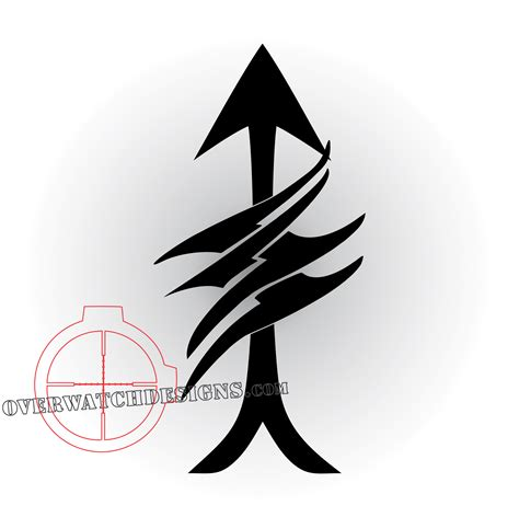 scout sniper symbol a decal designed for our elite marksmen