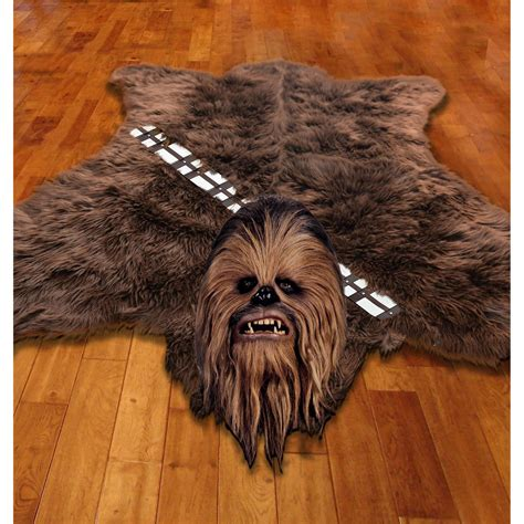 chewbacca skin rug this wookie rug is 100 manufactured and artificial it is