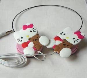 Headset Lucu harga headset onto lucu karakter hellokitty doraemon avenger murah pricenia