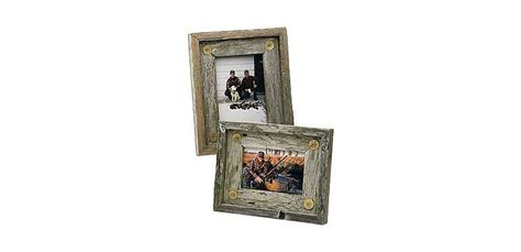 Cabelas Home Decor Weathered Wood Picture Frames Cabela S