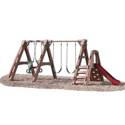 step2 naturally playful swing set step 2 naturally playful timberlast swingset dumyah com step 2 outdoor play outdoors