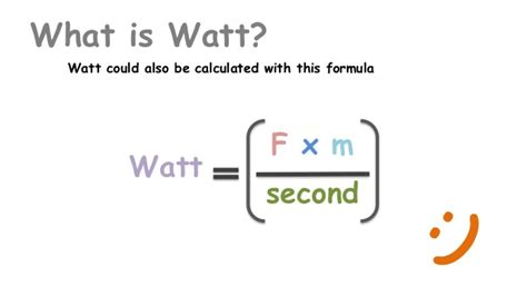 how do you calculate watts from s and volts watt formula it all