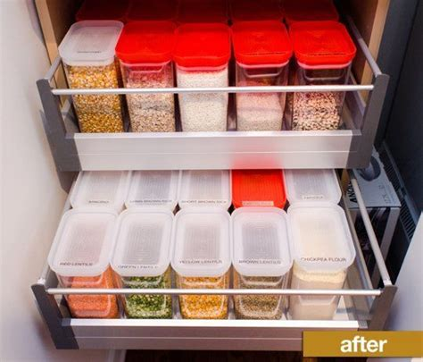 pantry labeler containers transformed pantry cabinets therapy share