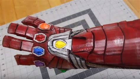 create iron mans infinity gauntlet
