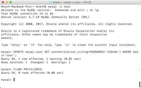 reset mysql root password windows reset mysql root password in macos huong dan java