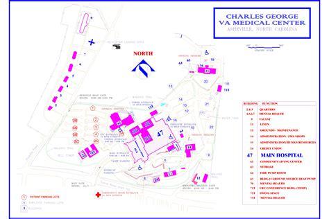 ashville nc map maps charles george va center asheville nc