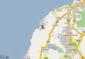 map of hton map of mauritius resort and spa port louis