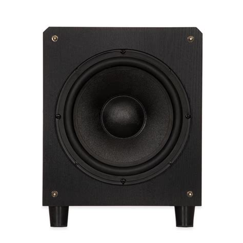 blue octave swf powered  subwoofer home theater front