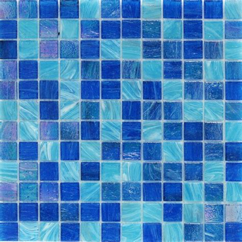 blue mosaic tile splashback tile aqua blue ocean mesh mounted squares 11 3