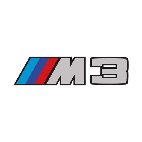 Kaos Bmw M3 Logo stickers bmw m3 logo autocollant voiture