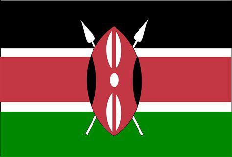 flags of the world kenya clipart flag of kenya