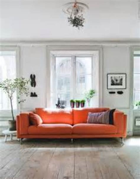 Ikea Orange Leather by Orange Ikea Sofa Knopparp 2 Seat Sofa Orange Ikea Thesofa