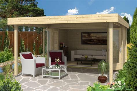 Veranda Vorm Haus by Gartenhaus Faltt 252 Ren Die Perfekte Kombination