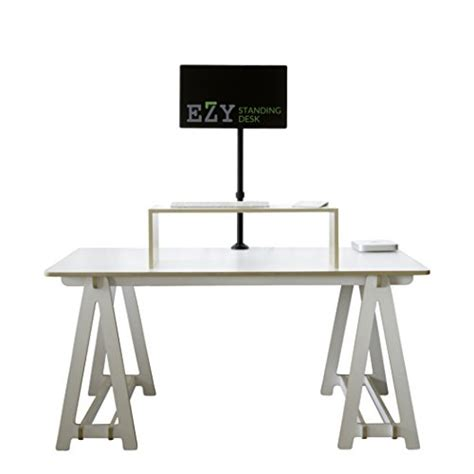 standing up at your desk ezy standing desk keyboard riser stand sit stand desk