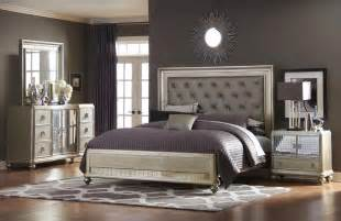 samuel 4 pc platinum bedroom set