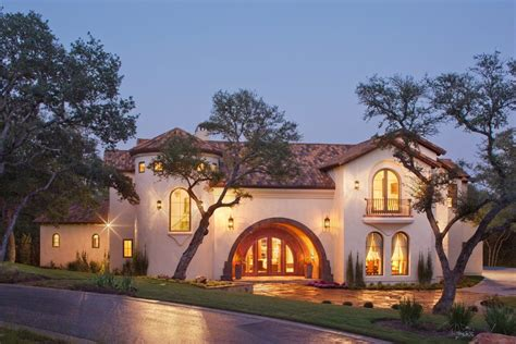 spanish villa style homes spanish villa vanguard studio inc austin texas architect