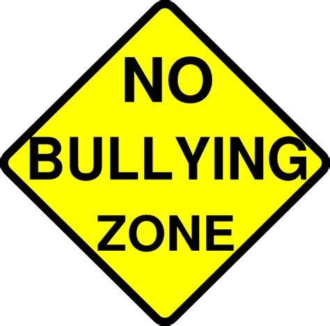 bullying clipart no bullying zone clip at clker vector clip
