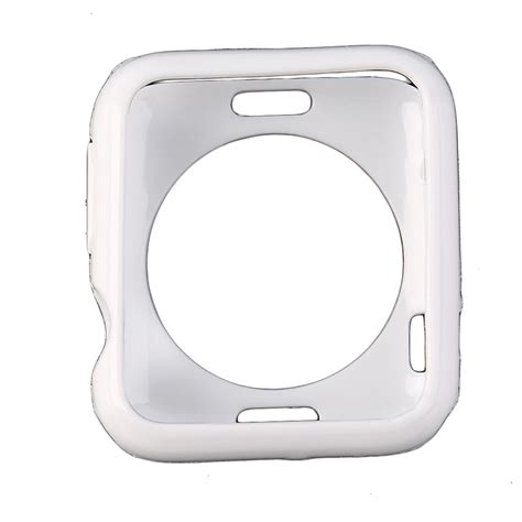 2016 slim tpu silicone cover protector for apple iwatch 38mm 42mm ebay