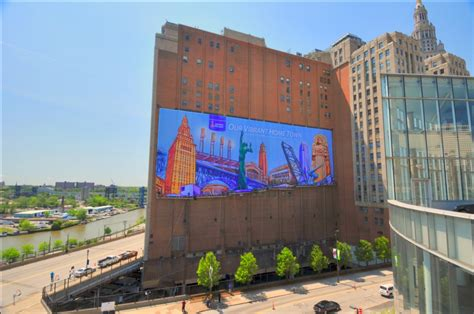 Sherwin Williams Corporate Office sherwin williams unveils colorful salute to cleveland on