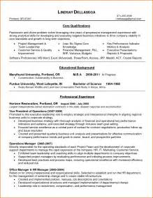 Business Operations Manager Sle Resume by Business Operations Manager Resume Exles Business Operations Manager Resume Exles