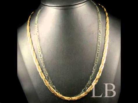 cadenas de oro raras cadenas para todos la boutik coleccion 2011 youtube