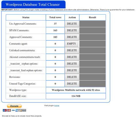 tutorial wordpress plugin database how to clean wordpress database table records with