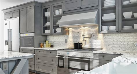 painted shaker kitchen cabinets gray painted kitchen cabinets