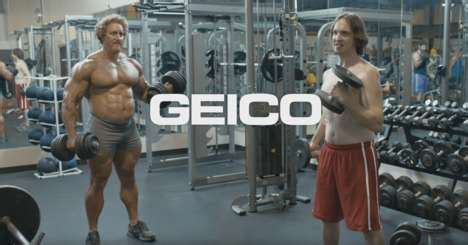 geico broteen shake male targeted insurance ads geico insurance
