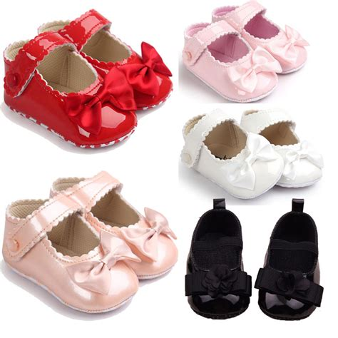 infant crib shoes toddler baby bowknot crib shoes newborn prewalker non