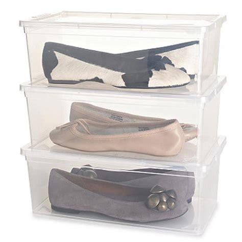 lakeland shoe storage shoe boxes in shoe storage at lakeland