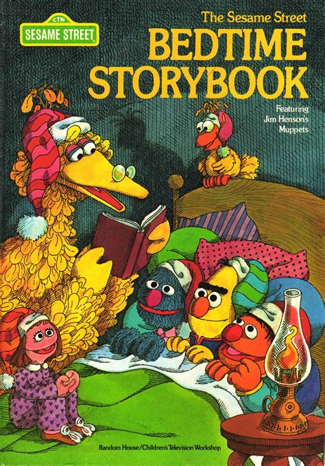 Mainan Edukasi Sesame My Read Along Four Stories In O vintage books my kid the sesame bedtime storybook