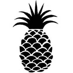 Stamp For Pineapple Drawing Sketch Coloring Page sketch template