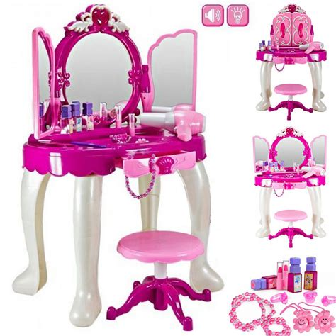 large mirror dressing table play