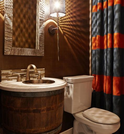 wine barrel bathroom vanity creative wine barrel bathroom vanity design decoist
