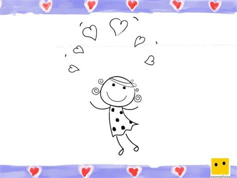imagenes otoñales para niños nia dibujo para colorear cheap nina pintora dibujo para