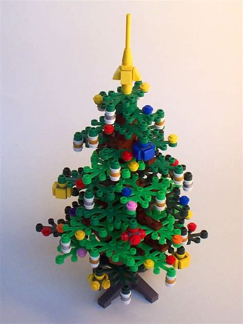 lego christmas tree by lantlant on deviantart