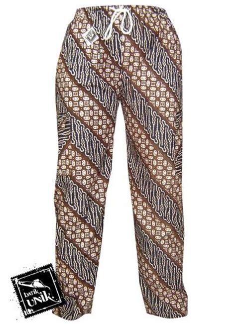 Sarung Batik Unik Motif Pekalongan Dan Jogja celana panjang batik motif jogja celana murah
