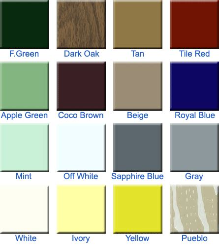 awning colors aluminum awning colors