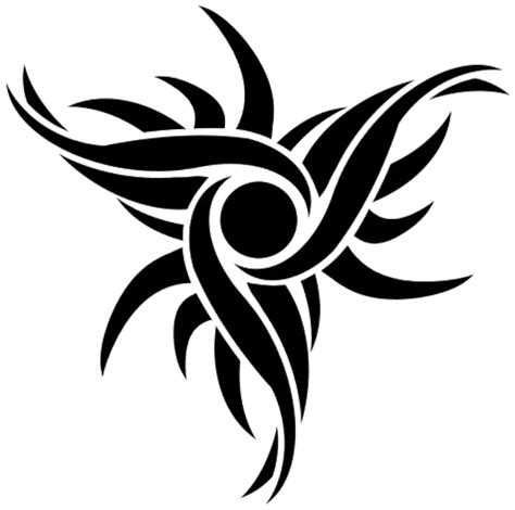 tribal tattoos png tribal sun design