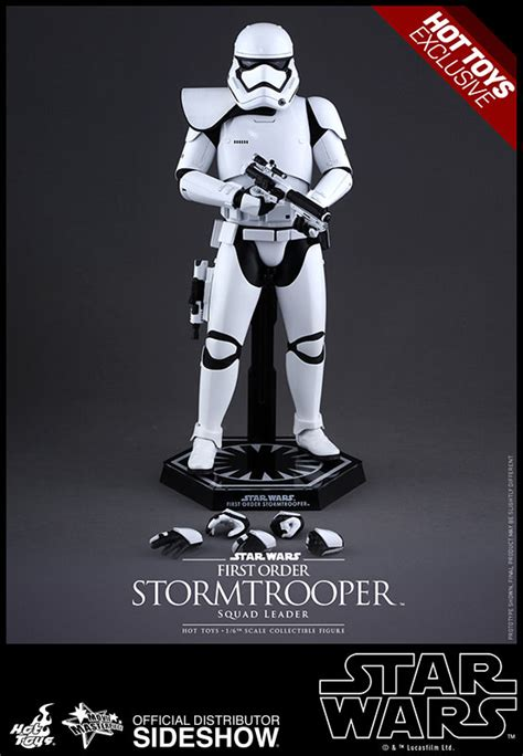 Ht Wars Stormtrooper Order Squad Leader Toys R Us Exclusive anyone getting the fo stormies hottoys