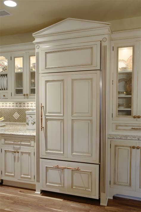 refrigerator panels panel ready refrigerator kitchen traditional with built in
