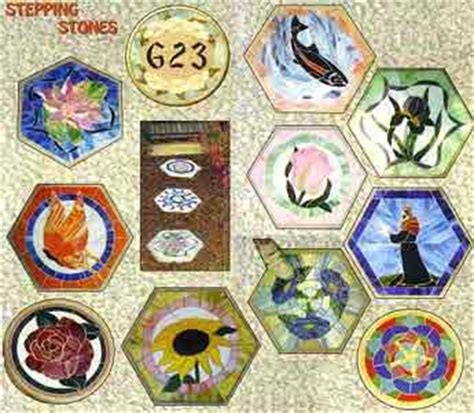mosaic pattern books stepping stones stained glass pattern book