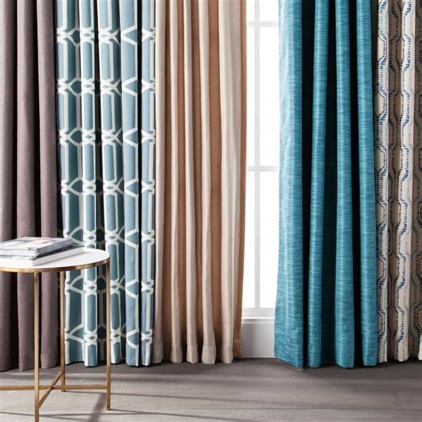 Black And Tan Valances Curtains Amp Drapes Target