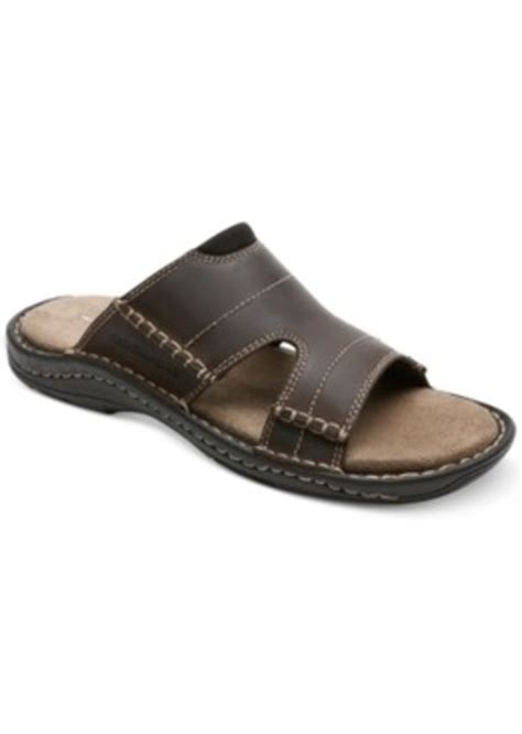 rockport sandals mens rockport rockport kevka lake slide sandals s shoes