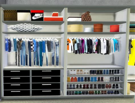 Sims 3 Closet by Sims 3 Walk In Closet