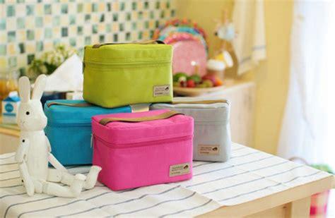 Lunch Cooler Bag Tas Bekal Tempat Makan Insulated Bonus Limited lunch bag dengan lapisan penahan suhu gratis ongkos kirim