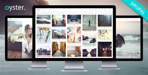 drupal themes for photographers oyster creative photography drupal theme by refaktor