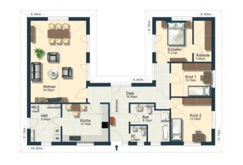 Bungalow U Form Grundriss by Grundriss Haus U Form Die Neuesten Innenarchitekturideen