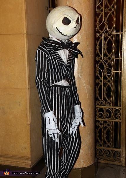diy jack skellington costume tim burtons nightmare
