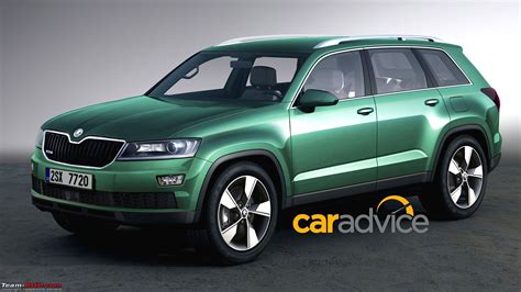 skoda to bring new 7 seater flagship suv to india team bhp